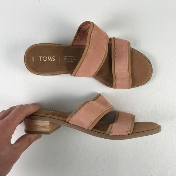 a545a5d987b7 Toms Pink Mariposa Sandals T816170